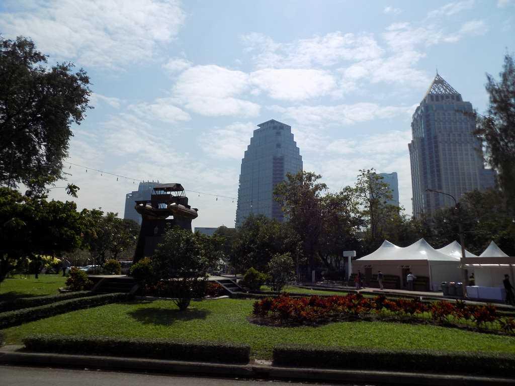Lumpini Park Bangkok Thailand