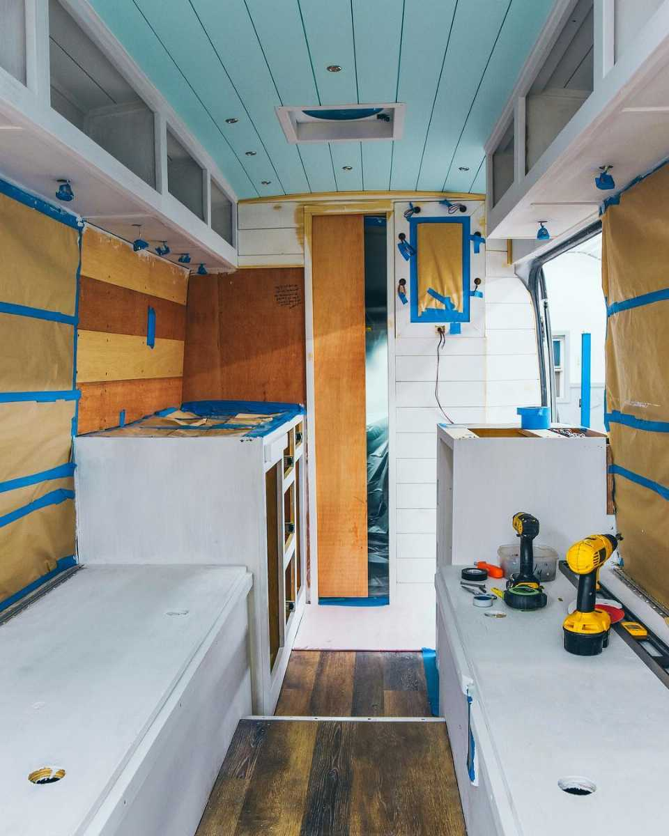 The Van that is also a Home