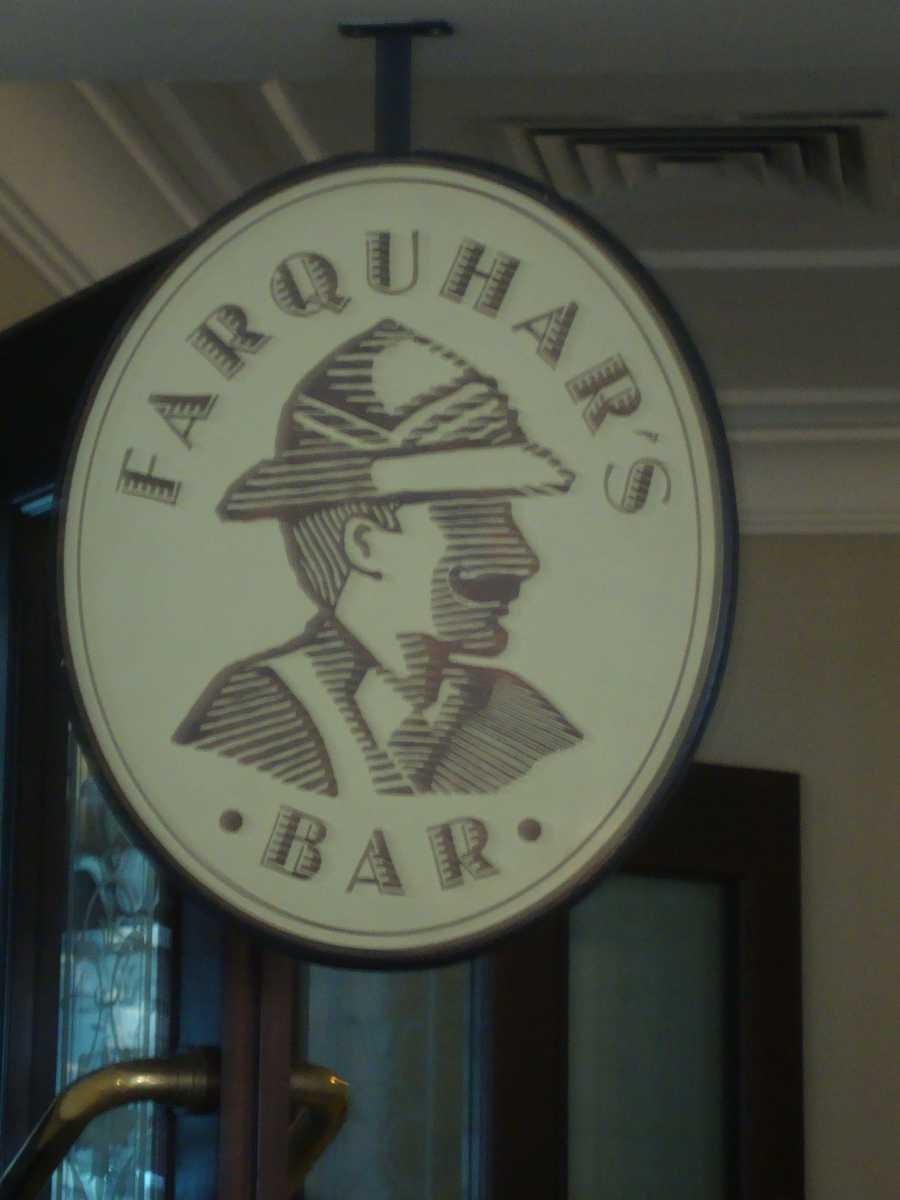 Farquhar's Bar, Penang