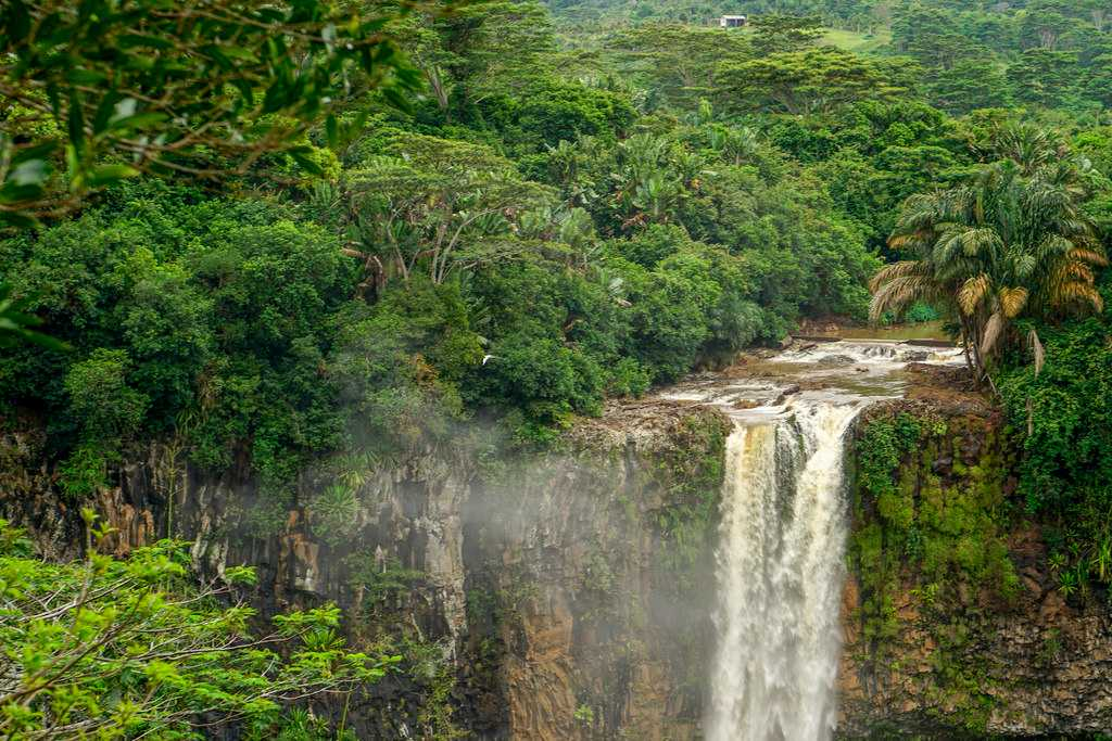 Chamarel Waterfalls, hiking and trekking in Mauritius, excursions in Mauritius