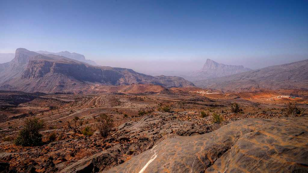 Al Hajar Mountains, Landscapes of Oman
