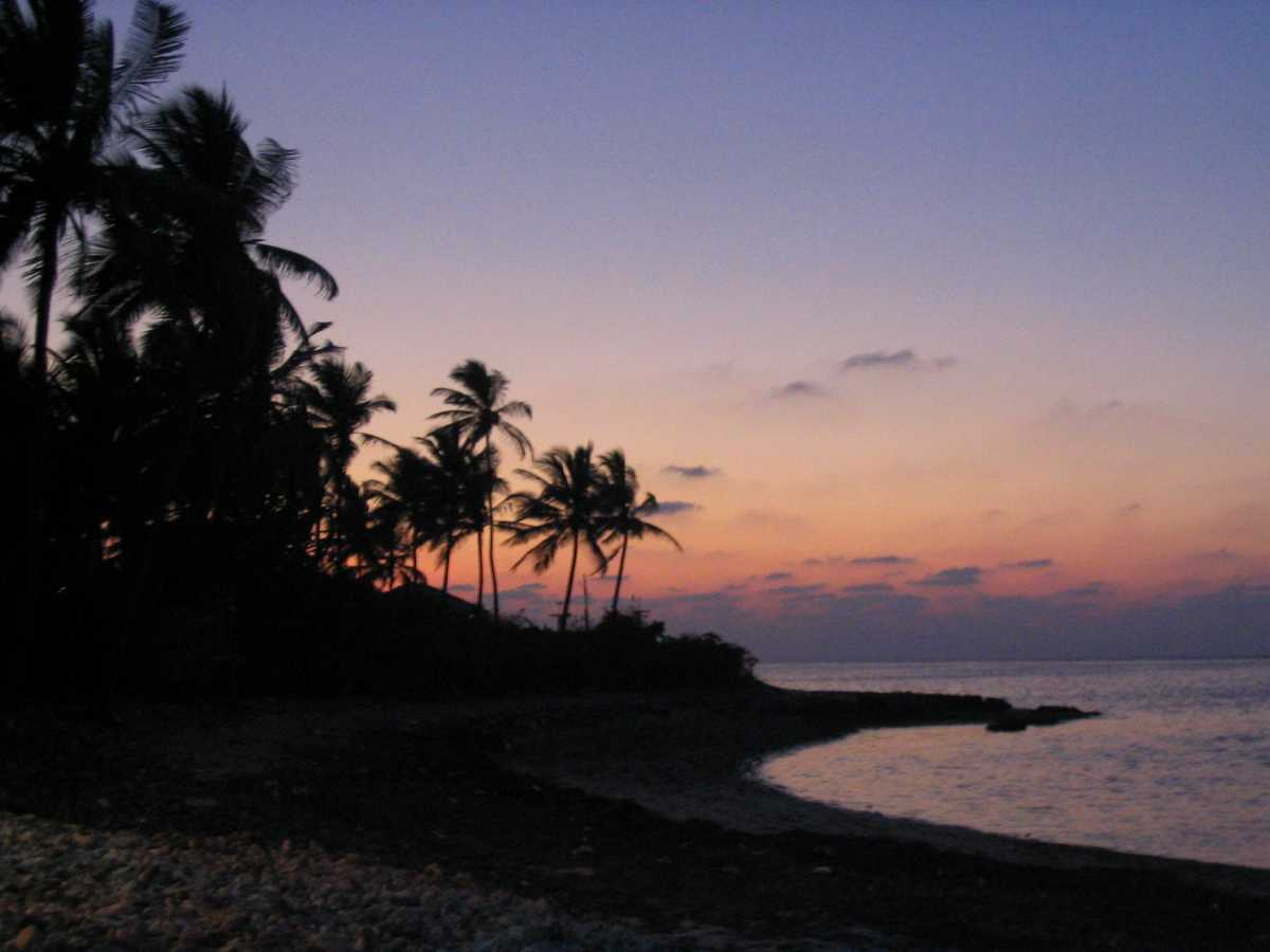 Sunset in Agatti Island