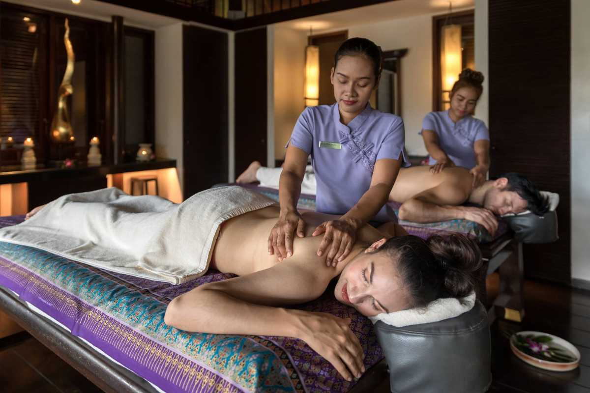 Thai Massage at Eforea spa, Hilton, Phuket