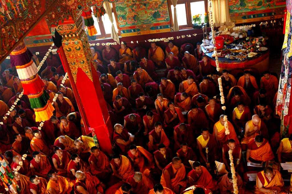 Tharlam Monastery, Monasteries at Kathmandu
