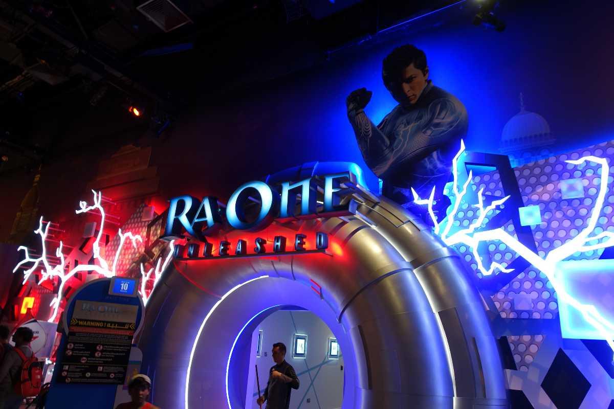 RaOne Unleashed, Bollywood Parks Dubai