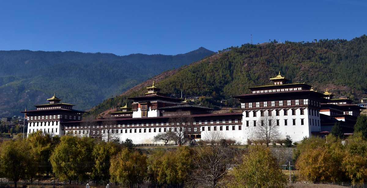 Tashichho Dzong, Architecture in Bhutan
