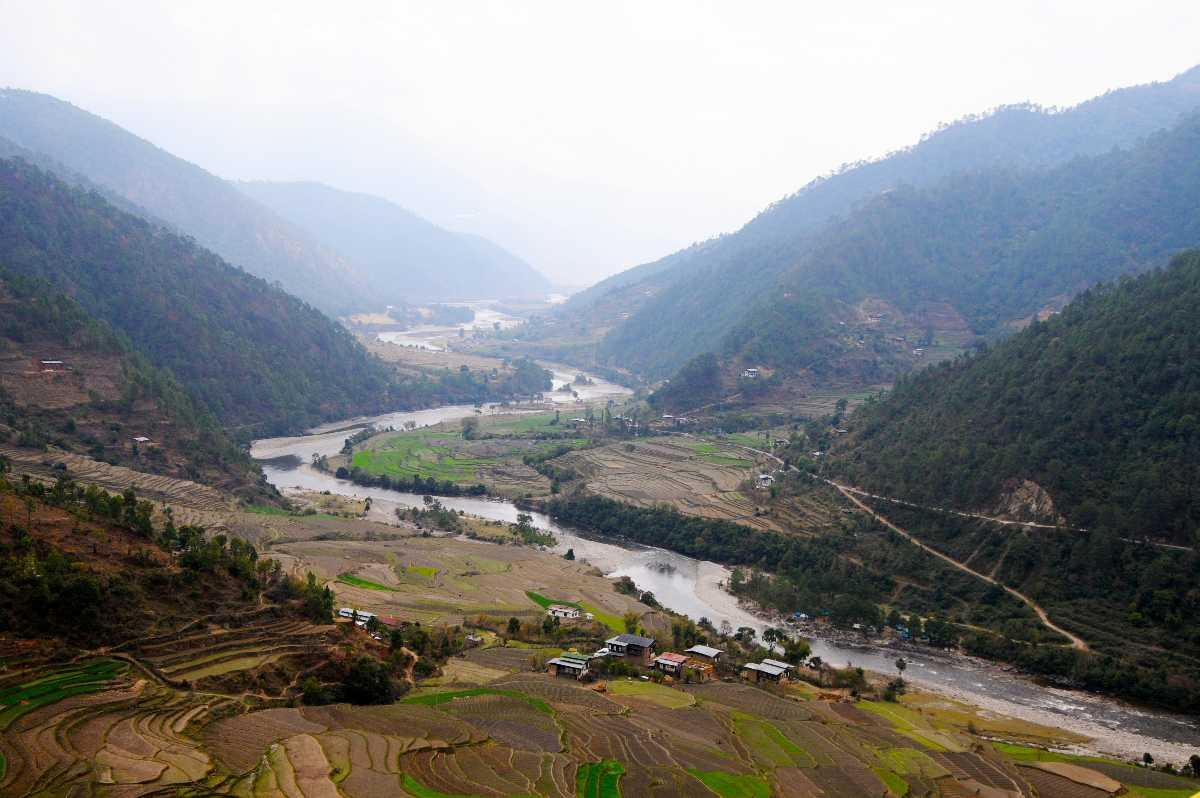 Punakha Valley, Cycling in Bhutan