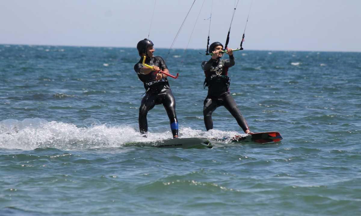 Training in Kitesurfing, Thailand