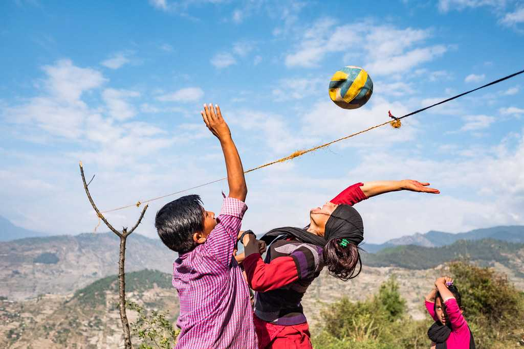 Volleyball in Nepal