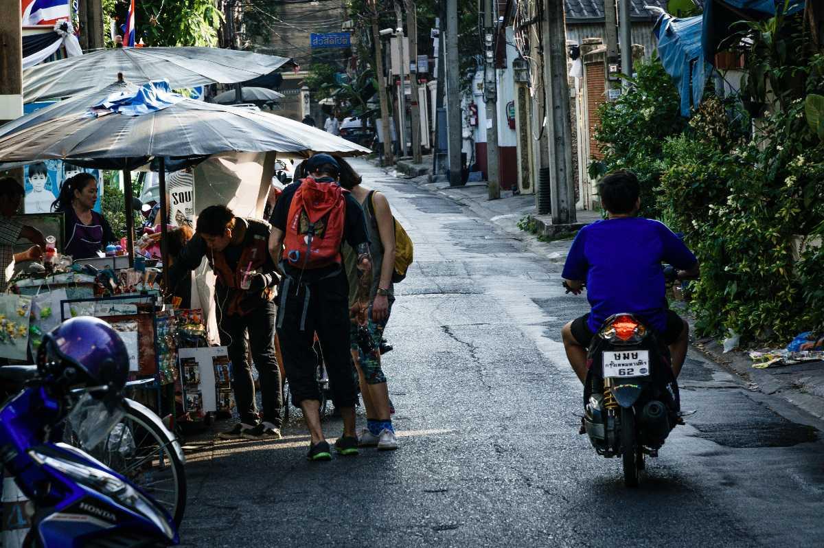 Renting a bike in Bangkok