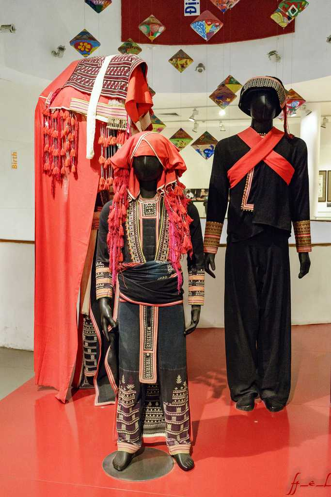Women's Fashion Section at Vietnamese Women's Museum