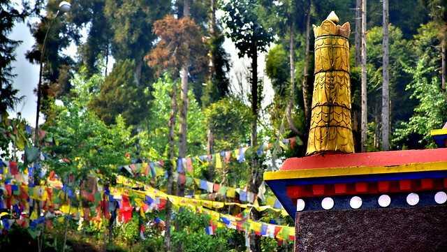 Prayer Flags at Rumtek Monastery
