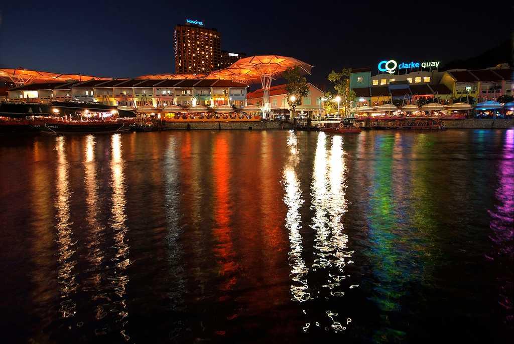 Singapore nightlife, nightlife in singapore, Clarke Quay