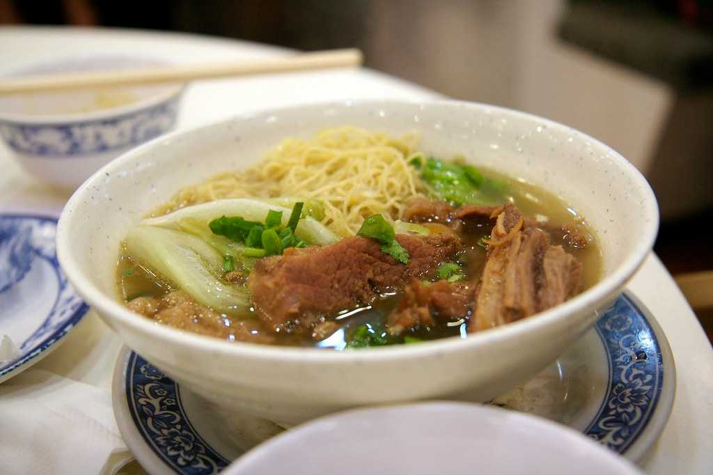 Beef Brisket Noodle Soup, Food of Hong Kong