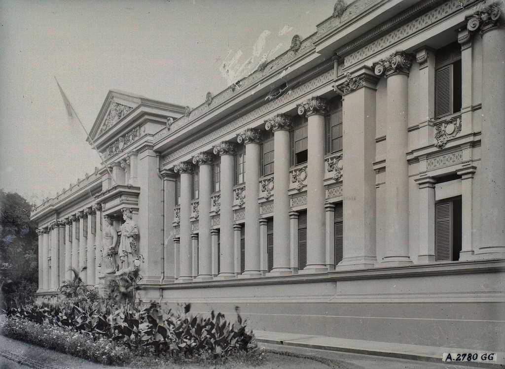Ho Chi Minh City Museum, Gia Long Palace in 1966