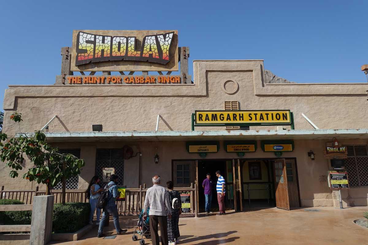 Sholay, Bollywood Parks Dubai