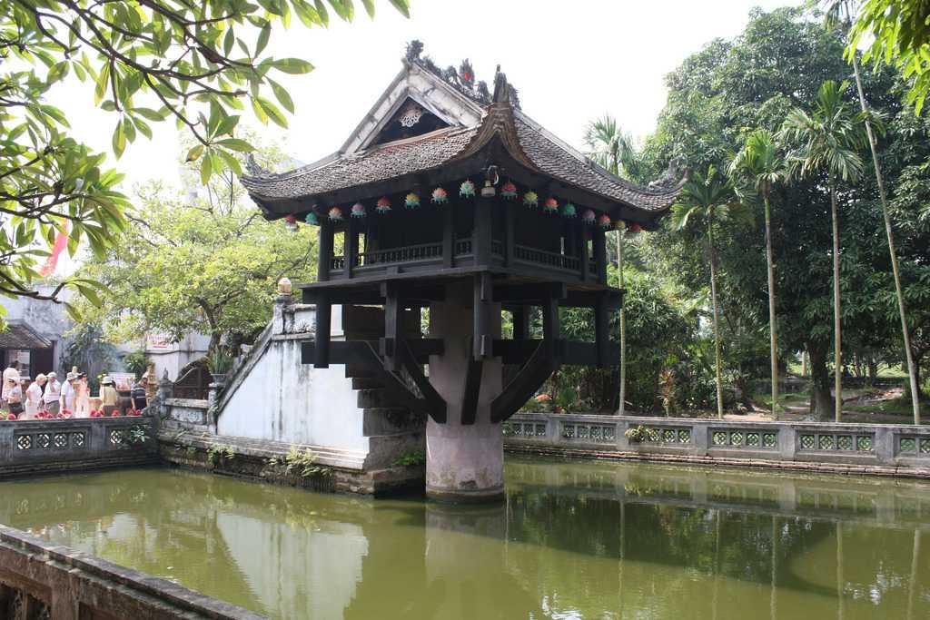 One Pillar Pagoda Hanoi Vietnam