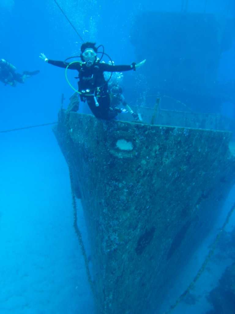 Wreck dive, Scuba diving in Mauritius