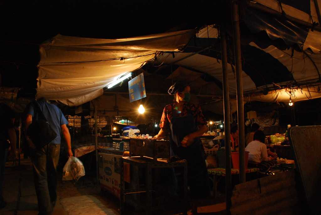 Night markets are a must see to grasp the Koh Chang lifestyle!