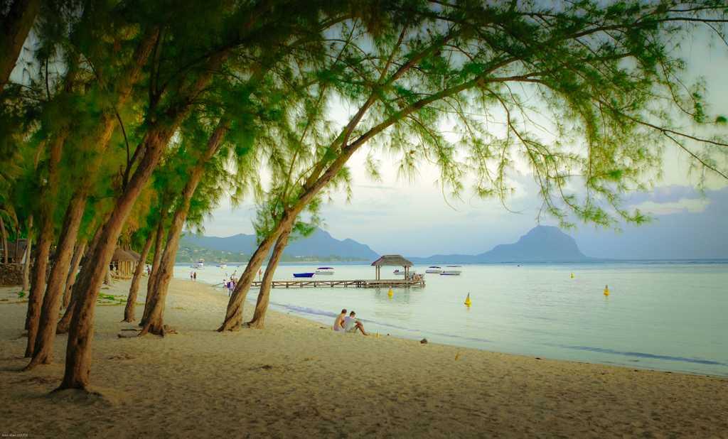 Flic en Flac, Mauritius in September
