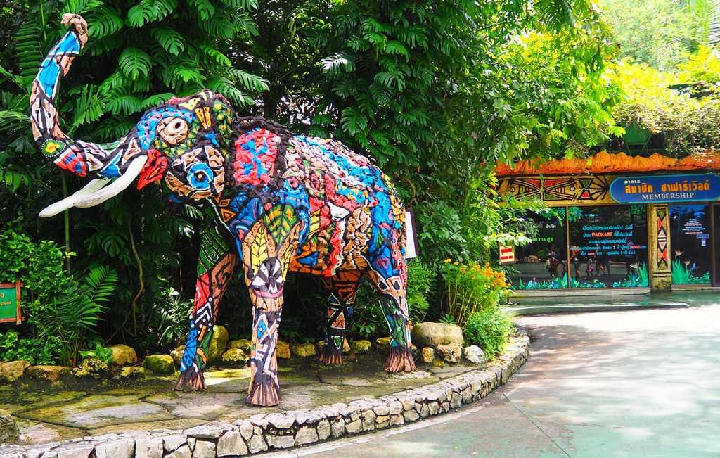 Safari World Bangkok Thailand