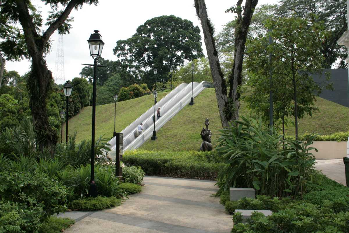 Fort Canning Park, Gardens in Singapore