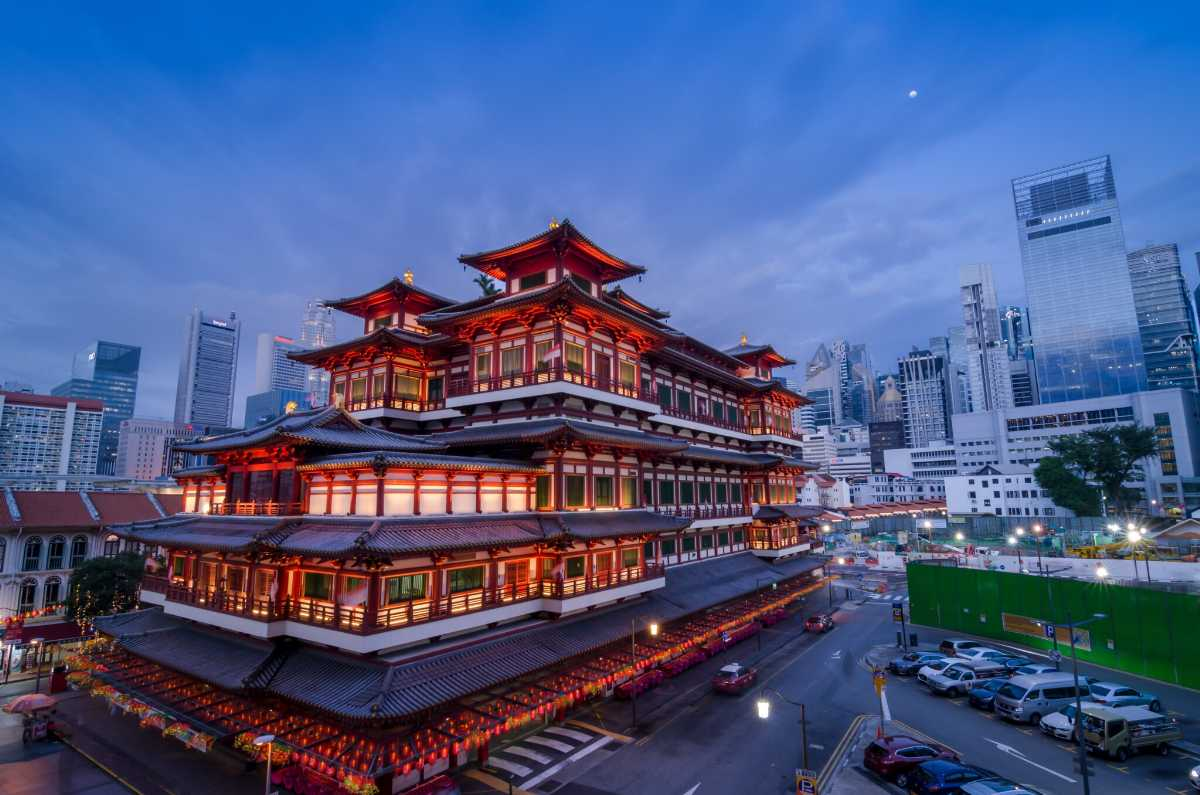 Buddha Tooth Relic Temple Singapore, Culture of Singapore