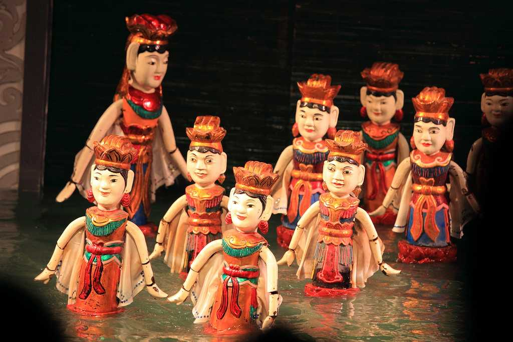 Water Puppets at Golden Dragon Water Puppet Theater, Ho Chi Minh City