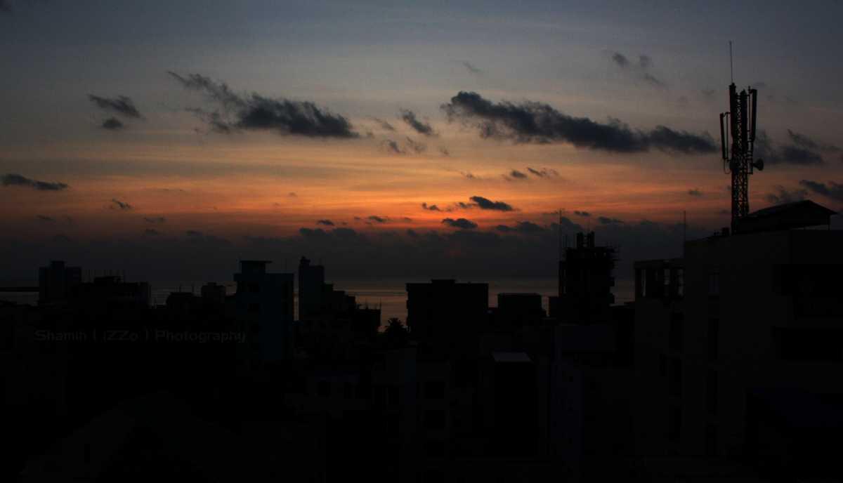 A Morning in Male, Sunrise in Maldives