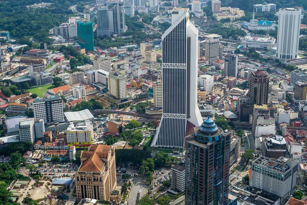 The contemporary Kuala Lumpur