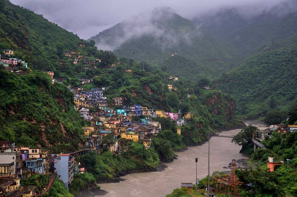 Devprayag in winters