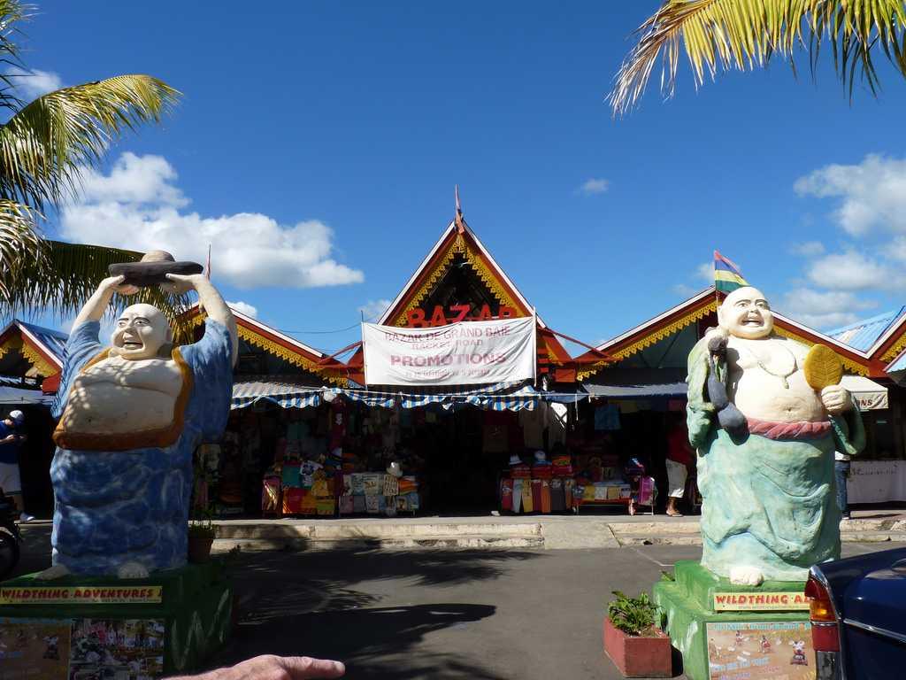 Grand Baie Bazaar, Mauritius in May
