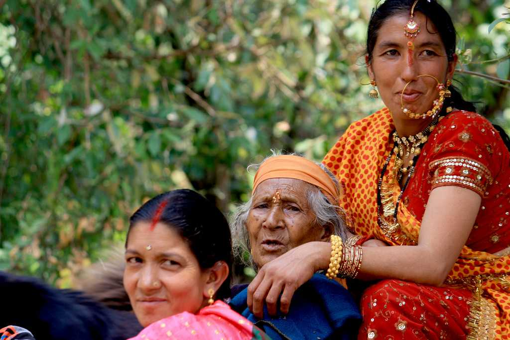 Rung community women, Kandali, Festivals of Uttarakhand