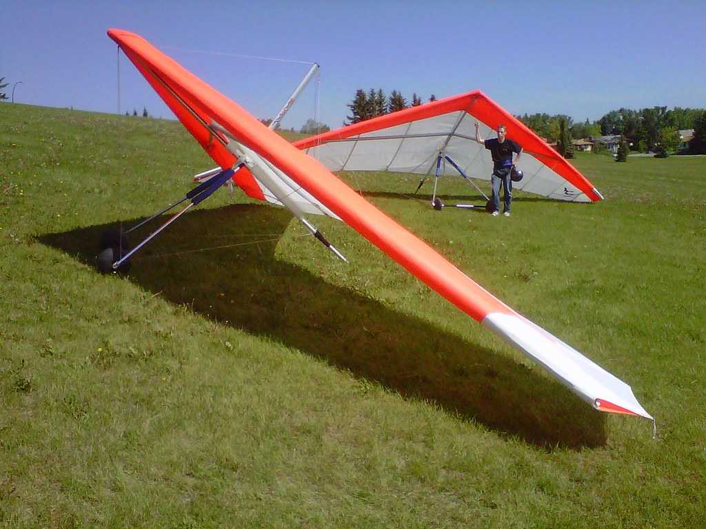 Hang-gliding in India