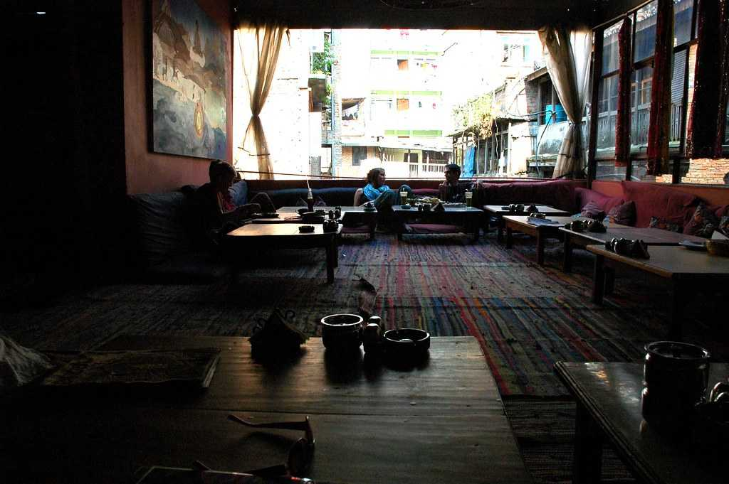 The OR2K is one of the most famous restaurant in Kathmandu.