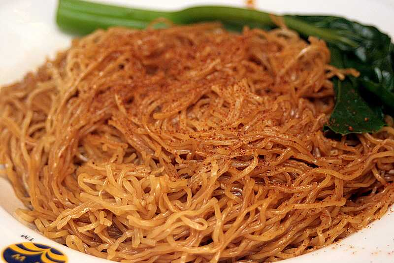 Shrimp roe noodles