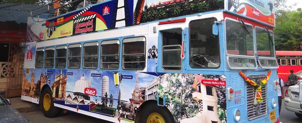 mumbai darshan, mumbai darshan buses