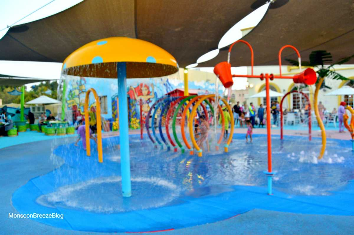 waterparks in dubai, splash n play