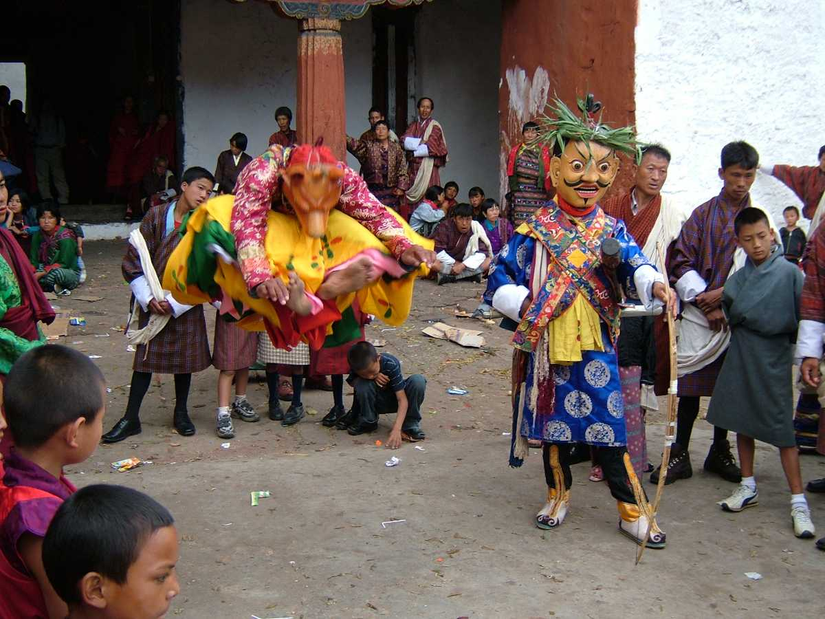 Cham Dance in Tshechu, Dances in Bhutan