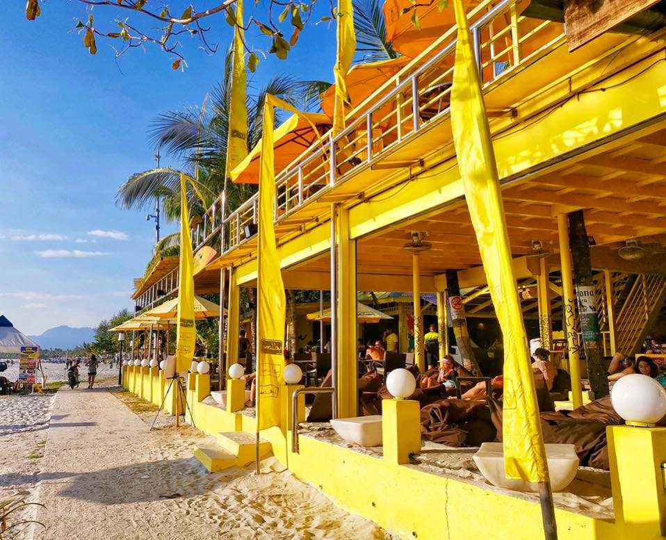 Yellow Beach Cafe, Langkawi
