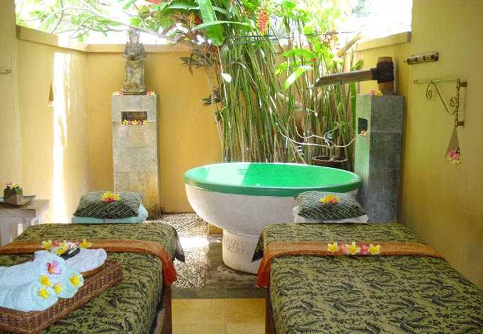 Honeymoon in Bali, Spa Session