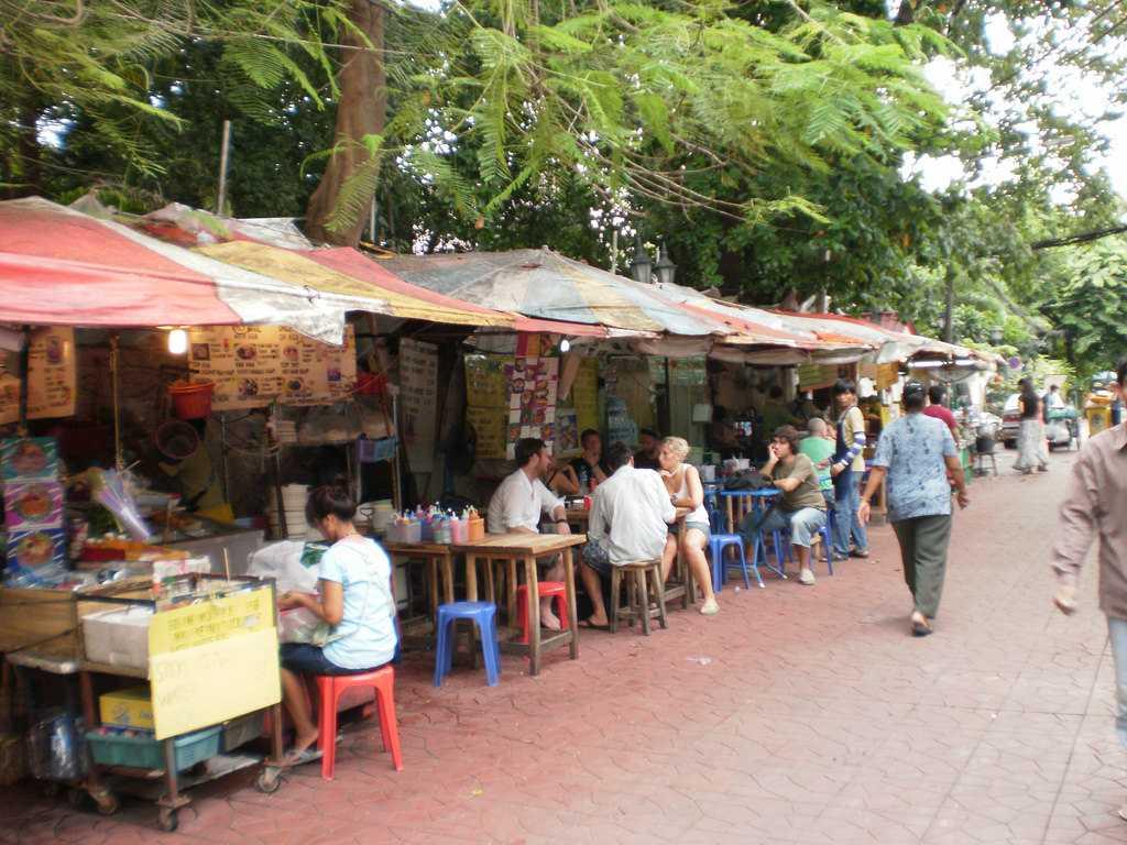 Soi Rambuttri Street Food Stalls