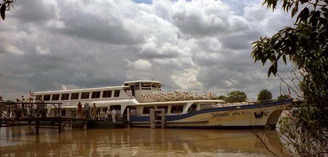Chao Phraya River Tour Boat