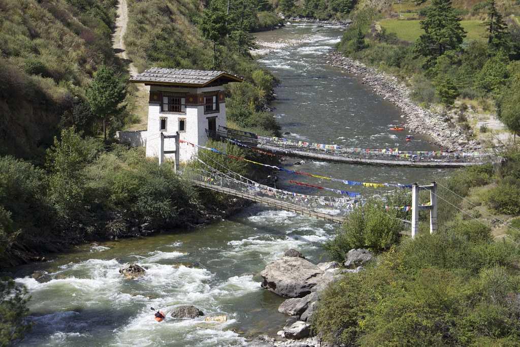 River Rafting at Paro Chhu
