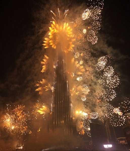 New Year in Dubai 2018