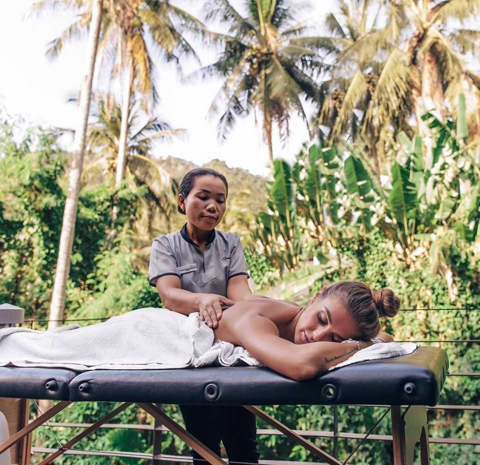 Massage at Santosa Detox & Wellness Center, Phuket