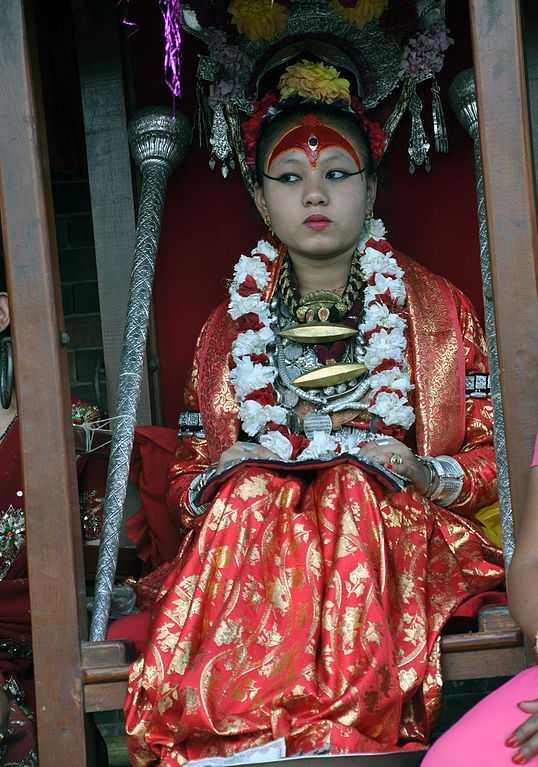 Kumari Devi of Nepal