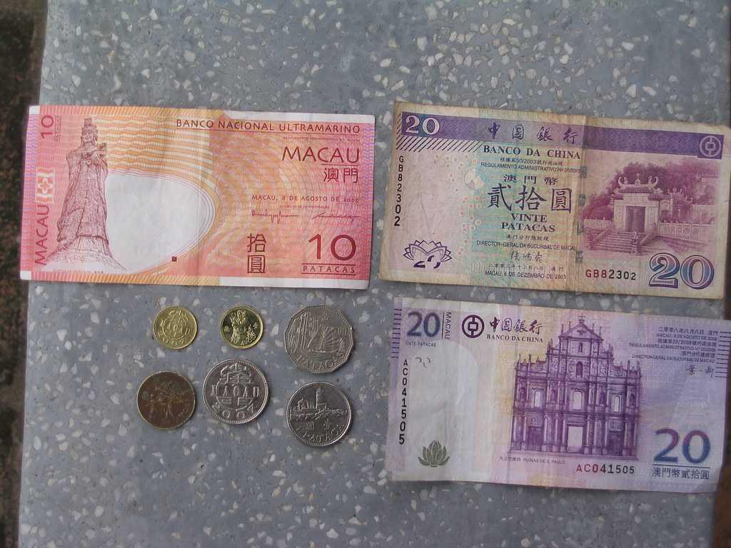 Macau Pataca Currency Note, Currency of Macau