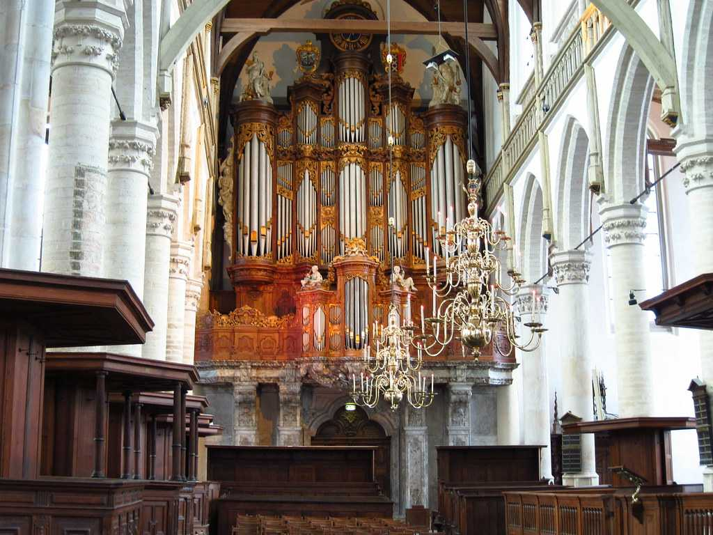 Architecture of Oude Kerk
