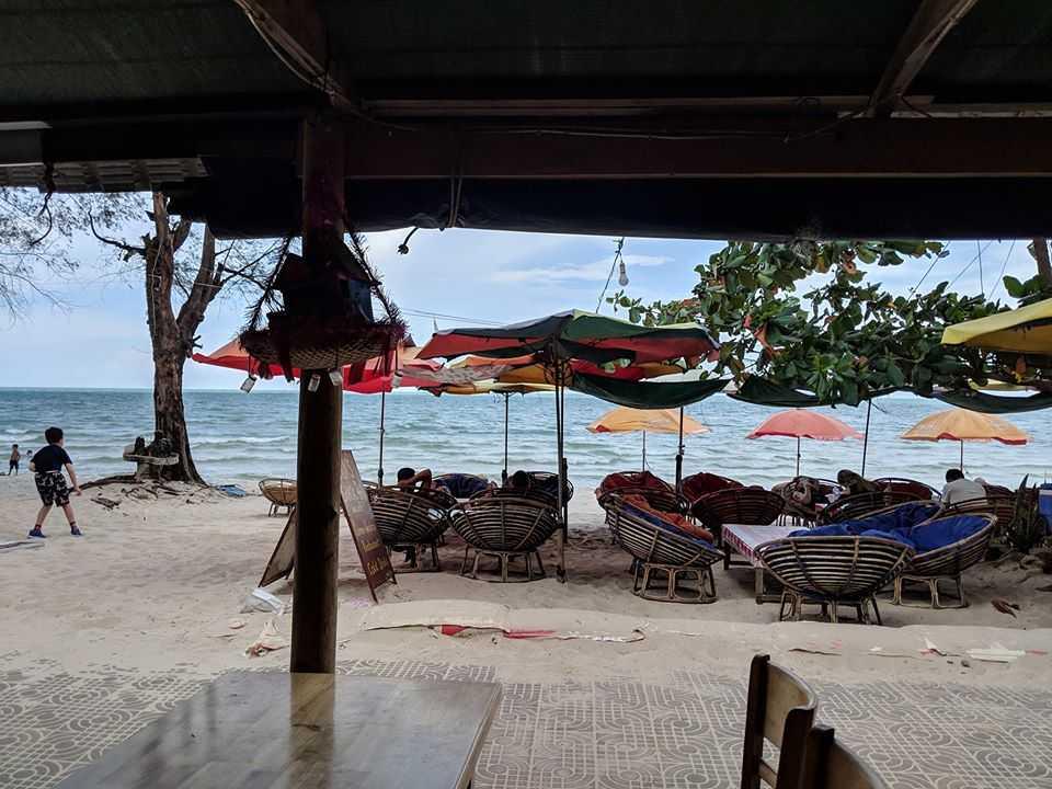 Khin's Shack at Sihanoukville